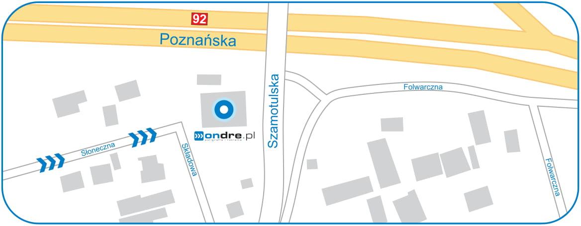Lokalizacja Wydruków Cad Ondre.pl